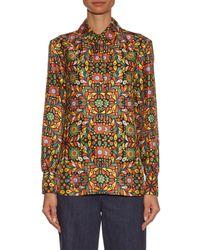 La Doublej Editions - Multicolor The Confetti-print Boy Shirt - Lyst