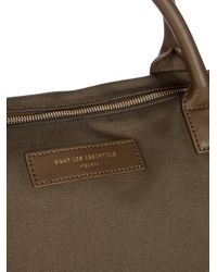 Want Les Essentiels De La Vie - Multicolor Hartsfield Leather-trimmed Canvas Weekend Bag for Men - Lyst