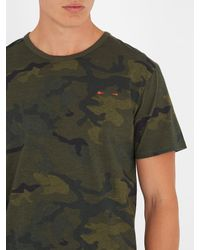 The Upside - Green Jack Camouflage-print Cotton Performance T-shirt for Men - Lyst