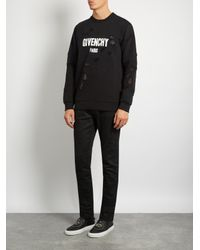 Givenchy - Black Street Skate Monkey-print Slip-on Trainers for Men - Lyst