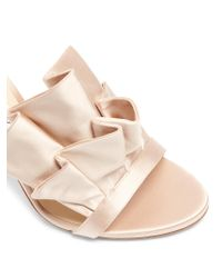 Jimmy Choo Pink Kami 100mm Satin Sandals