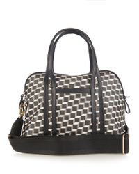 Pierre Hardy | Black Cube-print Coated-canvas Bag | Lyst