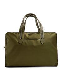 Stella McCartney | Green Falabella Go Eco-nylon Weekend Bag | Lyst