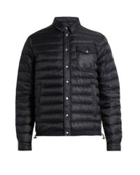 Moncler | Blue Christopher Quilted Down Jacket for Men | Lyst