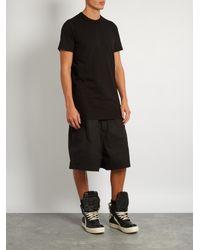 Rick Owens - Black Crew-neck T-shirt for Men - Lyst