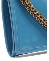 Vetements - Blue X Eastpak High-shine Leather Clutch - Lyst