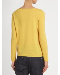 Weekend by Maxmara - Yellow Ampex Sweater - Lyst