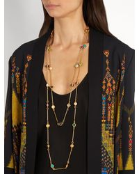 Sylvia Toledano - Metallic Candis Gold-plated Necklace - Lyst