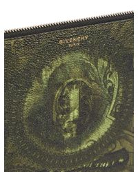 Givenchy - Green Dollar-print Coated-canvas Pouch for Men - Lyst
