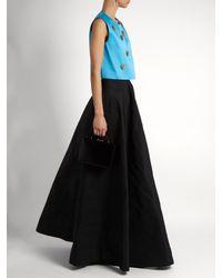 Maison Rabih Kayrouz | Black High-rise A-line Maxi Skirt | Lyst