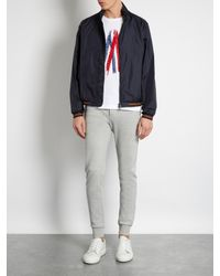 Moncler - Blue Lamy Nylon Jacket for Men - Lyst