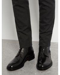 Jil Sander - Black Lace-up Leather Boots for Men - Lyst