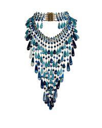Rosantica By Michela Panero | Blue Antica Quartz Necklace | Lyst