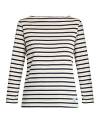 Orcival | Multicolor Breton-striped Cotton Top | Lyst
