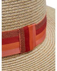 Filù Hats - Orange Batu Tara Paper-straw Hat - Lyst