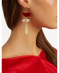 Isabel Marant - Red Other Potatoes Drop Earrings - Lyst