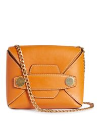 Stella McCartney. Women s Orange Stella Popper Small Faux-leather  Cross-body Bag fc7a67a3aa