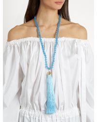 Rosantica By Michela Panero - Blue Platea Quartz Necklace - Lyst