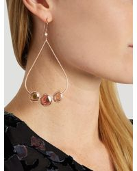 Jacquie Aiche - Pink Diamond, Tourmaline & Rose-gold Earrings - Lyst