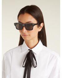 Dior | Black J'a Acetate Sunglasses | Lyst
