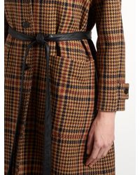 Golden Goose Deluxe Brand - Multicolor Audrey Single-breasted Checked Coat - Lyst