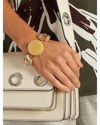 Marni - Multicolor Crystal-embellished Bracelet - Lyst