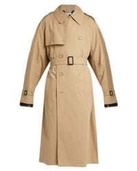 Vetements | Natural X Mackintosh Zip-back Trench Coat | Lyst