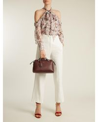 Fendi - Multicolor By The Way Embellished Leather Cross-body Bag - Lyst