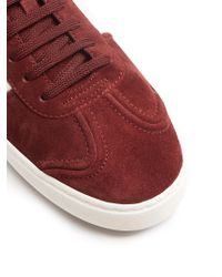 Valentino - Multicolor Fly Crew Low-top Suede Trainers for Men - Lyst