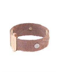 Carolina Bucci - Pink Diamond, Silk & Rose-Gold Bracelet - Lyst