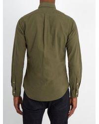 Polo Ralph Lauren - Green Long Sleeve Shirt for Men - Lyst
