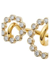 Charlotte Chesnais - Metallic System Diamond & Yellow-gold Ring - Lyst