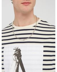 A.P.C. - Metallic Jules Chain Link Necklace for Men - Lyst