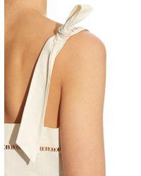 Isabel Marant - Natural Regin Cotton and Linen-Blend Dress - Lyst