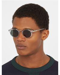 Cutler & Gross - Multicolor 1008 Round-frame Acetate Sunglasses for Men - Lyst