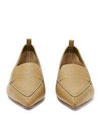 Nicholas Kirkwood - Multicolor Beya Grained-leather Loafers - Lyst
