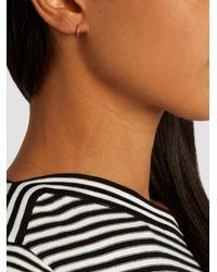 Maria Tash - Multicolor White-gold Earring - Lyst