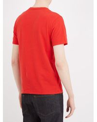 American Vintage - Red T-shirt for Men - Lyst