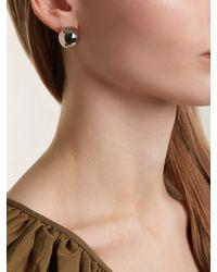 J.W. Anderson - Multicolor Sphere Palladium-plated Earrings - Lyst