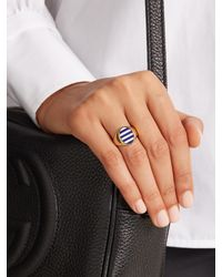 Jessica Biales | Multicolor Enamel & Yellow-gold Ring | Lyst