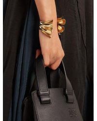 J.W. Anderson - Metallic Folded Gold-plated Cuff - Lyst