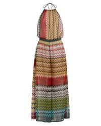 Missoni - Multicolor Zigzag Knitted Wide-leg Jumpsuit - Lyst