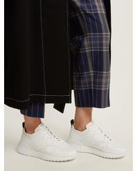 Tod's - Multicolor Sporty Leather Low-top Trainers - Lyst