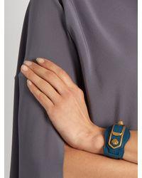 Balenciaga - Blue Paris Acetate Cuff - Lyst