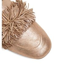Aquazzura - Multicolor Wild Thing Suede Loafers - Lyst