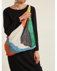 The Row - Multicolor Bilum Knit Shoulder Bag - Lyst