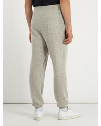 American Vintage - Multicolor Relaxed-fit Cashmere-blend Track Pants for Men - Lyst