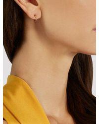 Ileana Makri - Multicolor Diamond, Semi-precious Stone & Gold Earrings - Lyst