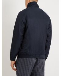 Saturdays NYC - Blue Everett Track Jacket for Men - Lyst