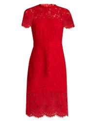 Diane von Furstenberg - Red Alma Dress - Lyst